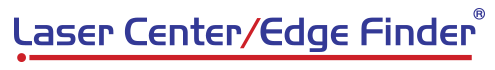 Laser Center/Edge Finder Logo